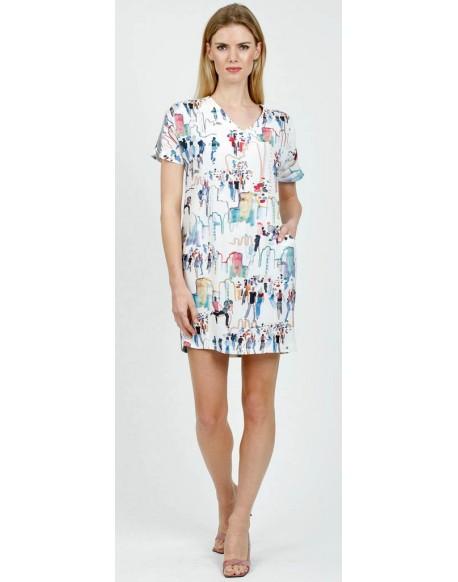 Mushroom printed dress