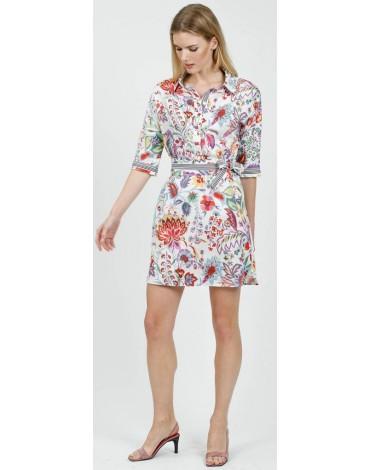 Hongo vestido estampado floral