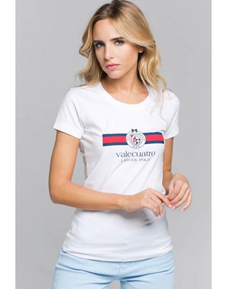 Valecuatro white flag shirt