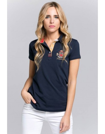 Valecuatro polo shirt Royal Club navy blue