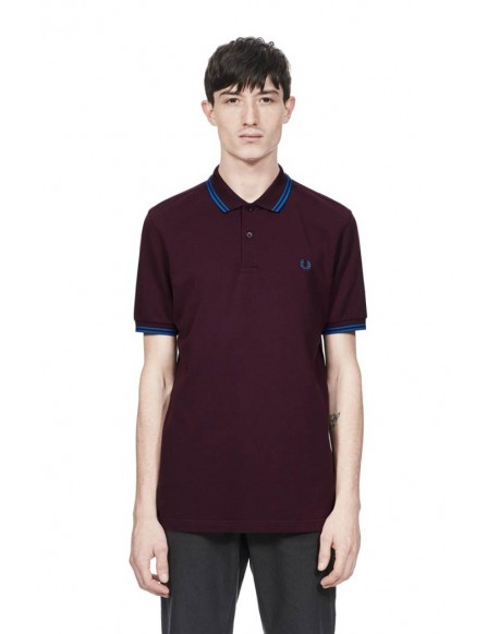 Fred Perry short sleeve bramble polo shirt