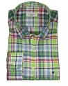 Pertegaz camisa cuadros verdes