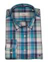 Pertegaz sport shirt blue plaid