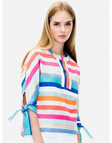 Vilagallo shirt capri stripe