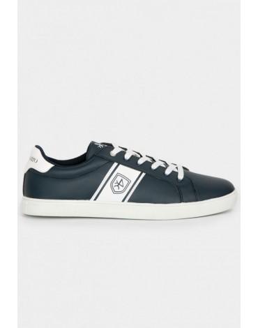 Valecuatro navy blue logo sneakers