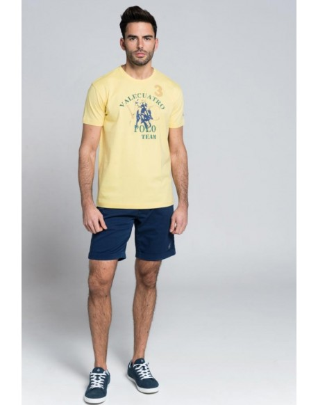 Valecuatro yellow player tshirt