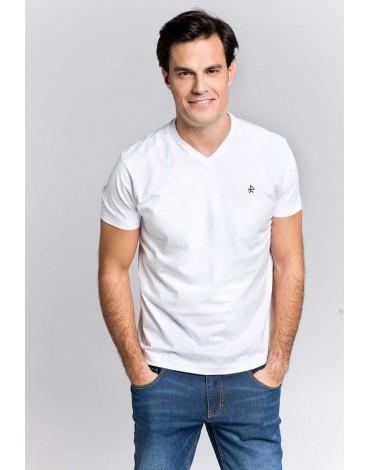 Valecuatro camiseta básica blanca