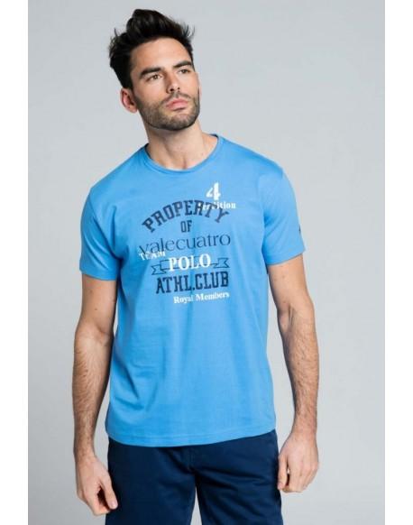Valecuatro club tshirt blue