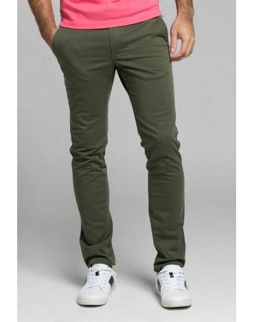 Valecuatro pantalón chino kaki