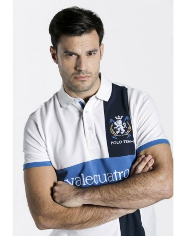 Valecuatro white lion polo shirt
