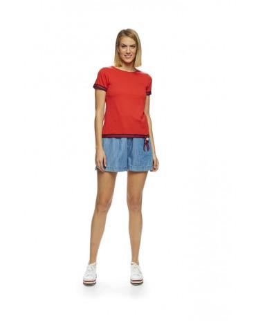 MdM camiseta roja cinta