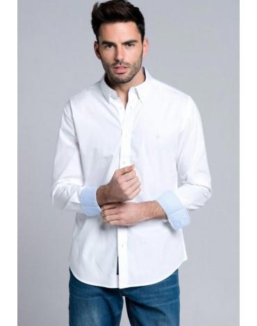 Valecuatro camisa blanca clásica