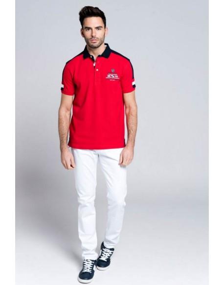 Valecuatro polo shirt Royal red