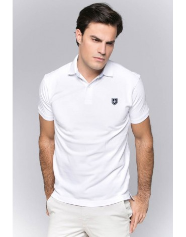 Valecuatro polo shirt basic white