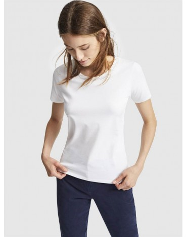 Escorpion white t-shirt beading