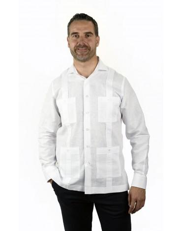 Guayabera white