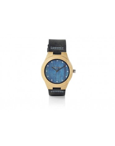 Root reloj madera arce natural
