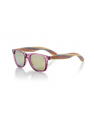 Gafas sol madera Root ska purple