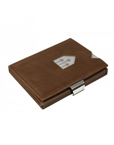 Exentri hazelnut leather wallet