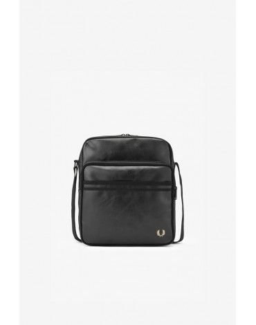 Fred Perry black travel bag