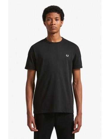 Fred Perry camiseta negra Ringer