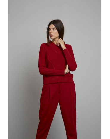 MdM red sweater