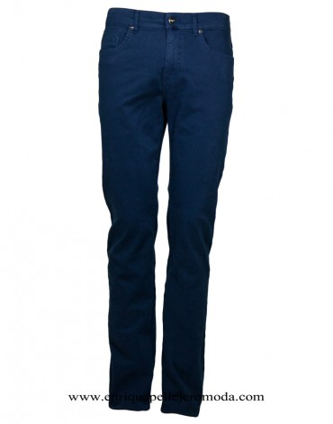 Pertegaz trousers five pockets blue