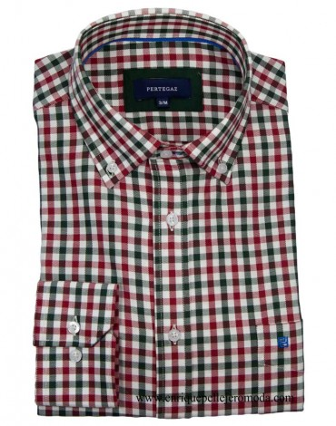 Pertegaz sport shirt red box
