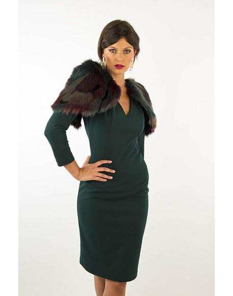 Margarita Muñoz green dress