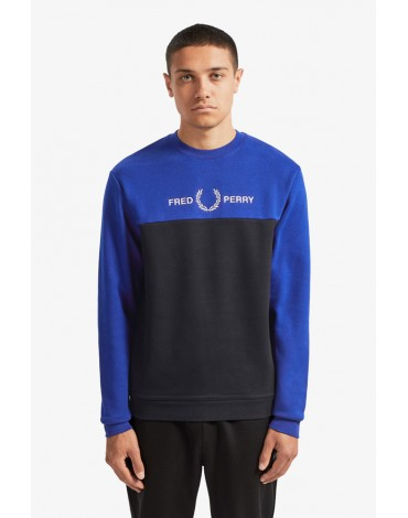 Fred Perry sweatshirt blocks