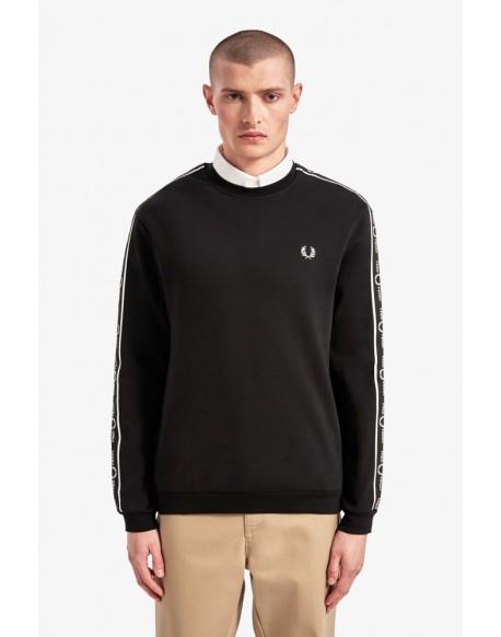 Fred Perry black sweatshirt