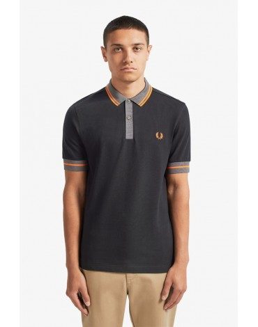 Fred Perry polo shirt contrast piping