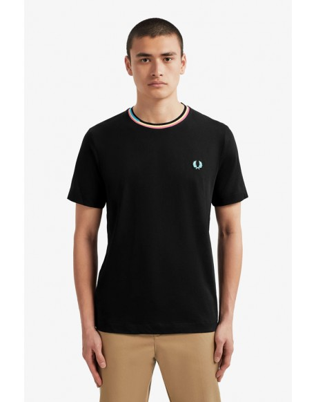 Fred Perry t-shirt colors print