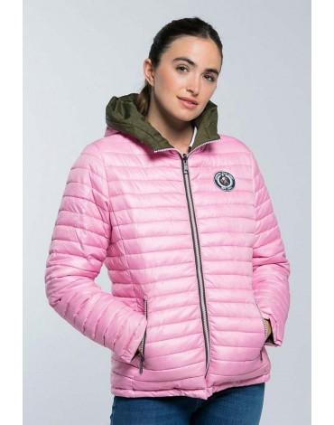 Valecuatro reversible padded jacket khaki