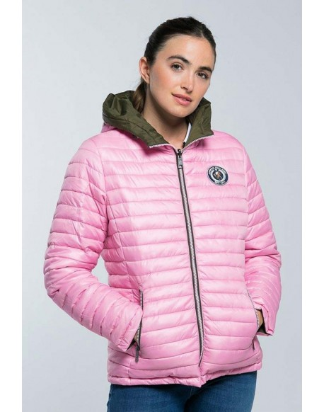 Valecuatro chaqueta acolchada rosa
