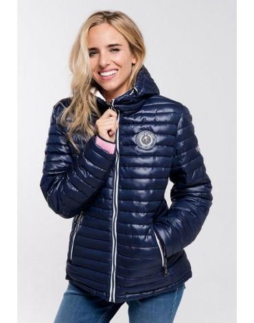 Valecuatro chaqueta acolchada marino mujer