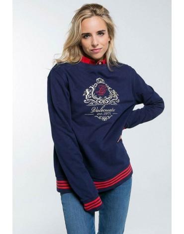Valeucatro navy LP sweatshirt
