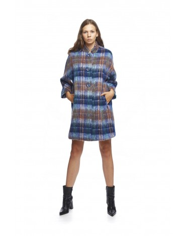 Mdm coat plaid