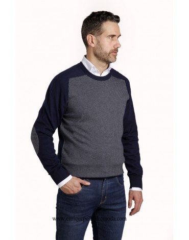 Pertegaz sweater leg gray rooster
