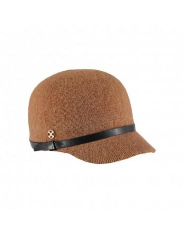 Beige woman cap