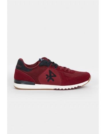 Valecuatro burgundy logo sneakers