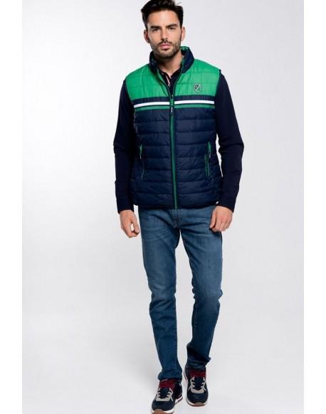 Valecuatro green reversible vest