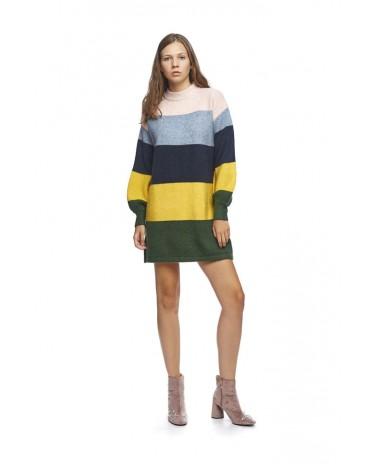 MdM wide striped sweater