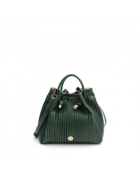 Green pleated bag Martina K