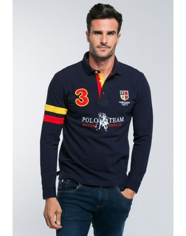 Valecuatro polo shirt Spain navy blue