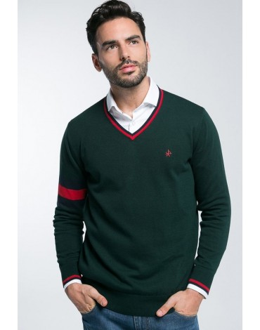 Valecuatro sweater band green