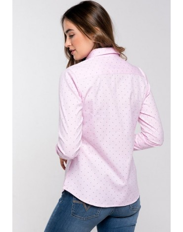 Valecuatro camisa fantasía rosa mujer