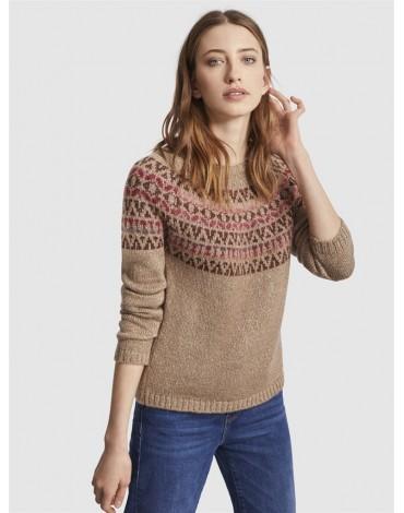Escorpion printed sweater