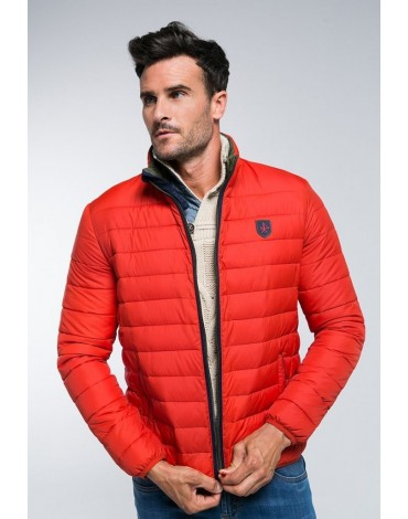 Red quilted valecuatro