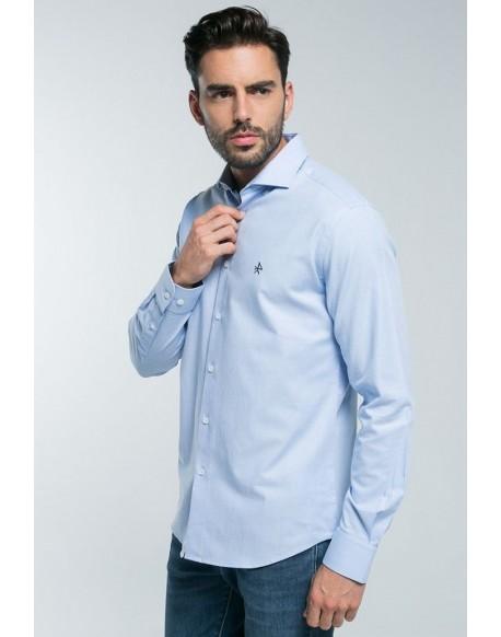 Valecuatro light blue shirt